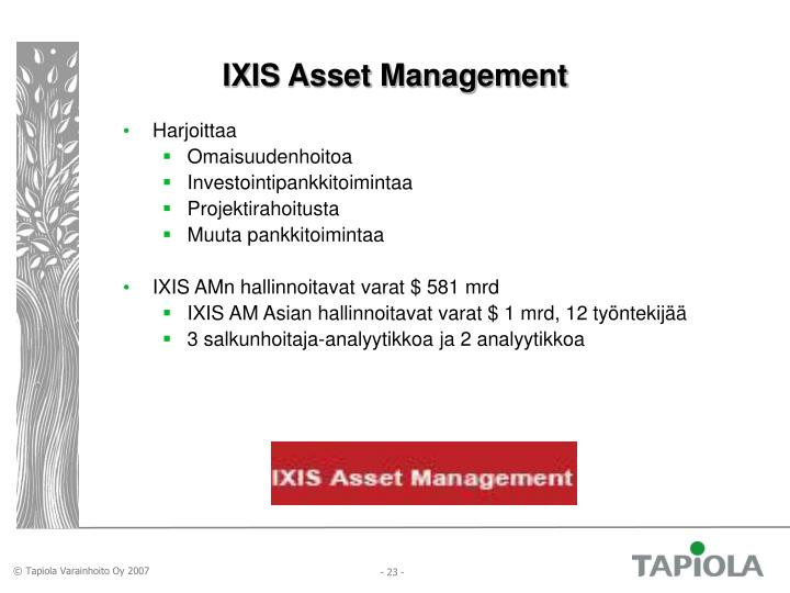IXIS Asset Management