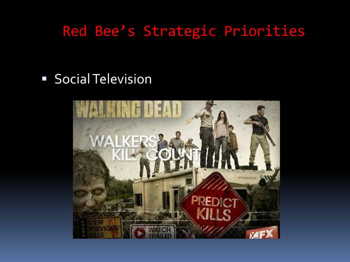 Red Bee's Strategic