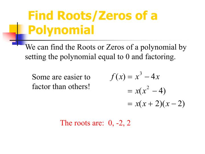Free Worksheets finding roots of polynomials worksheet : Zero Not A Polynomial Pictures to Pin on Pinterest - PinsDaddy