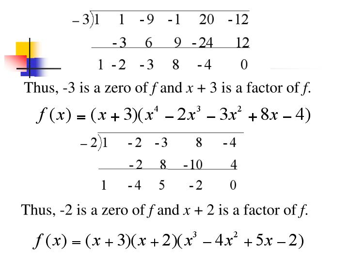 how to find the multiplicity of a zero