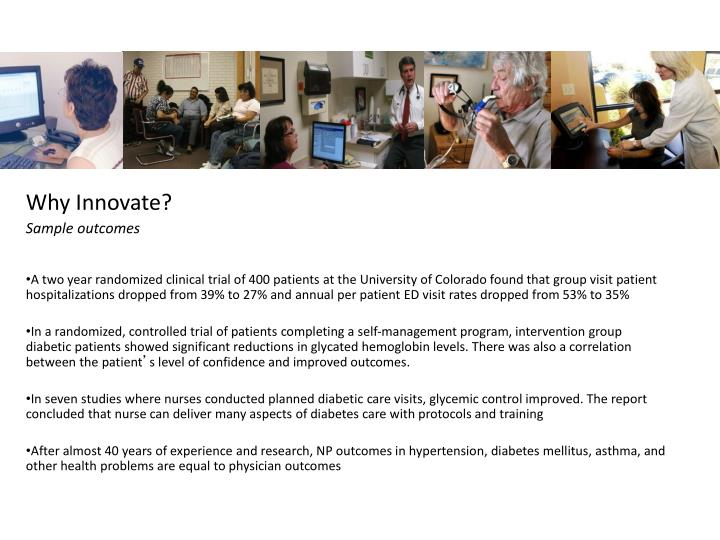 Why Innovate?
