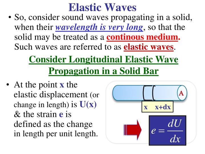 Elastic Waves