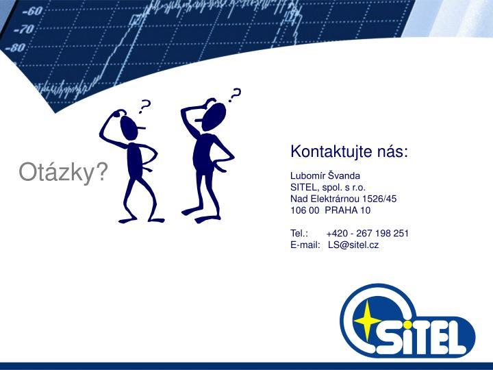 Kontaktujte nás:
