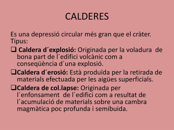 CALDERES