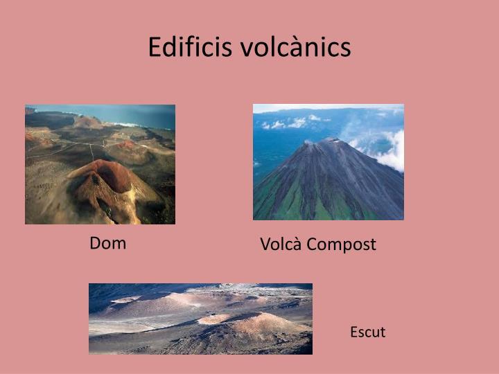 Edificis volcànics