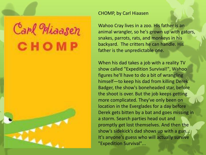 CHOMP, by Carl Hiaasen