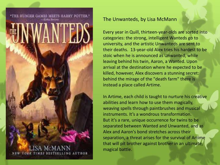 The Unwanteds, by Lisa McMann