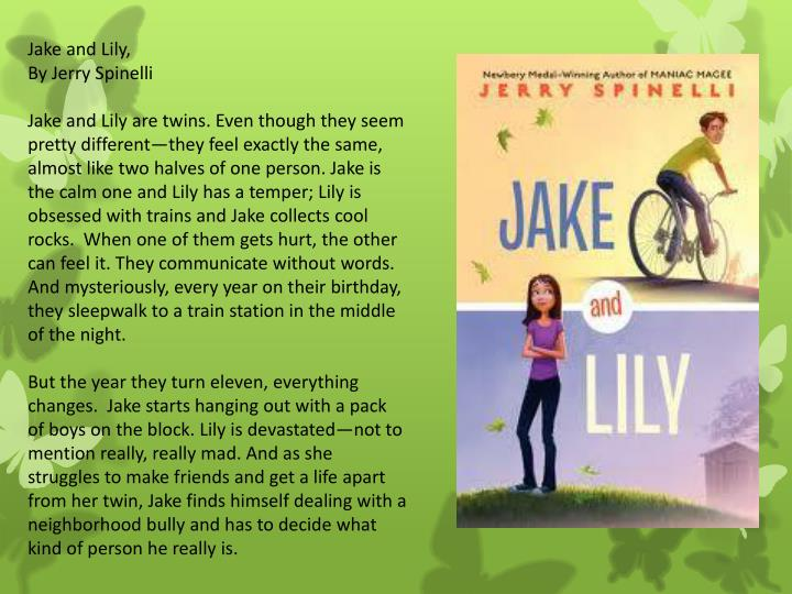 Jake and Lily,