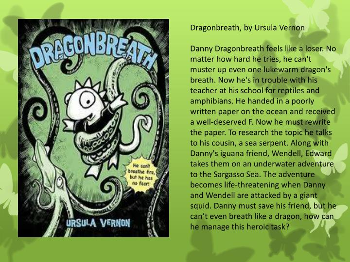 Dragonbreath, by Ursula Vernon