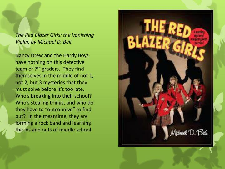 The Red Blazer Girls: the Vanishing Violin, by Michael D. Beil