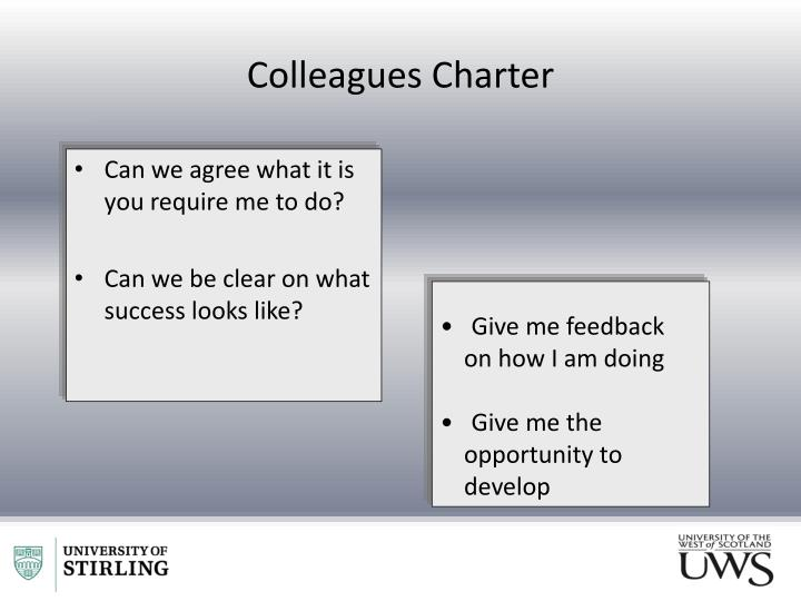 Colleagues Charter