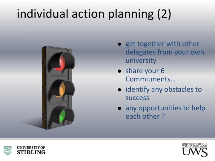 individual action planning (2)