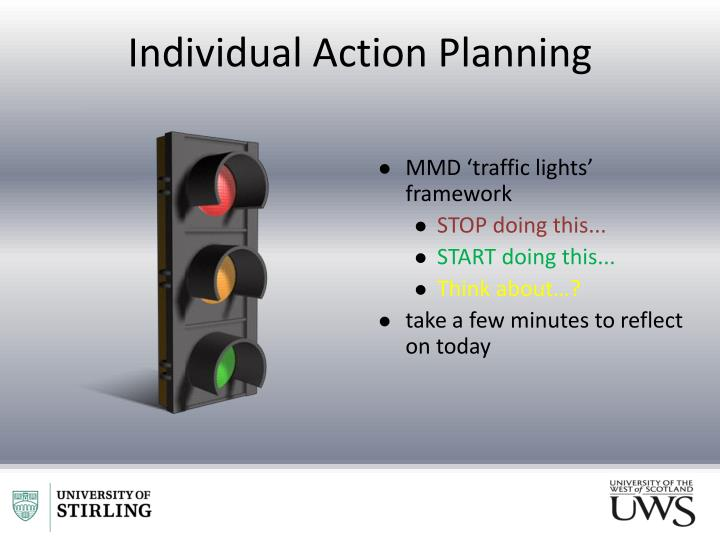 Individual Action Planning