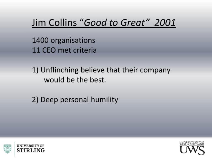"Jim Collins """