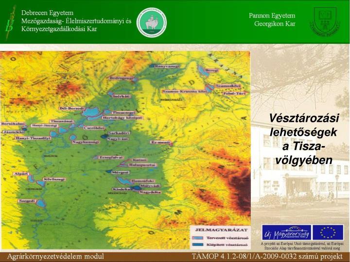 Vésztározási lehetőségek a Tisza-völgyében