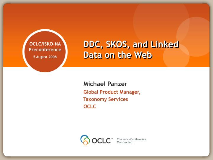 Ddc skos and linked data on the web