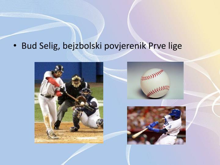 Bud Selig, bejzbolski povjerenik Prve lige
