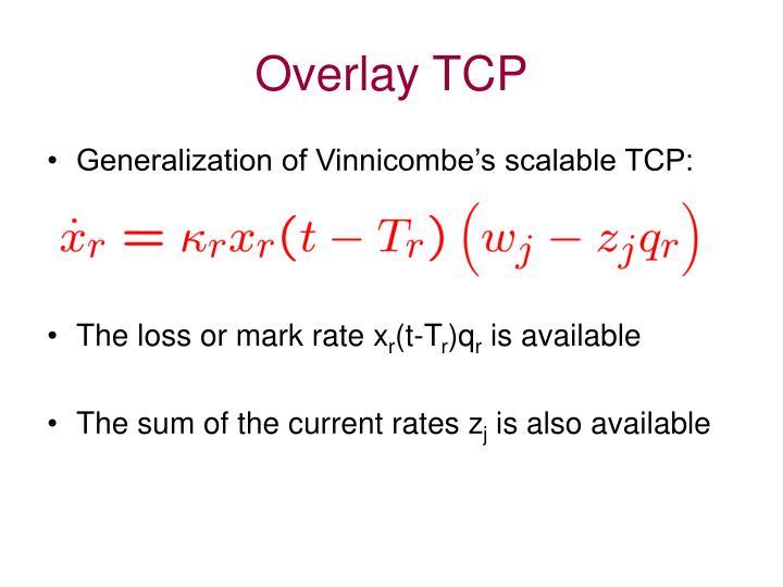 Overlay TCP