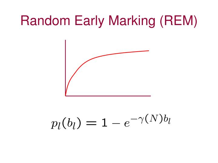 Random Early Marking (REM)