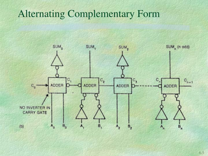 Alternating Complementary Form