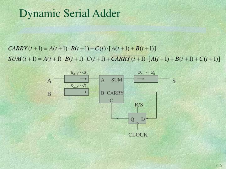Dynamic Serial Adder