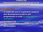 forestur tailored training for professionals in the rural tourist sector1