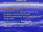 forestur tailored training for professionals in the rural tourist sector6