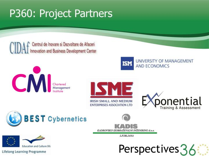 P360: Project Partners