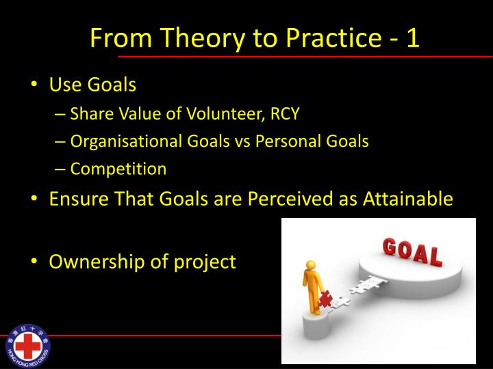 From Theory to Practice - 1