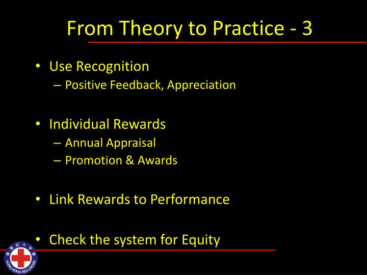 From Theory to Practice - 3