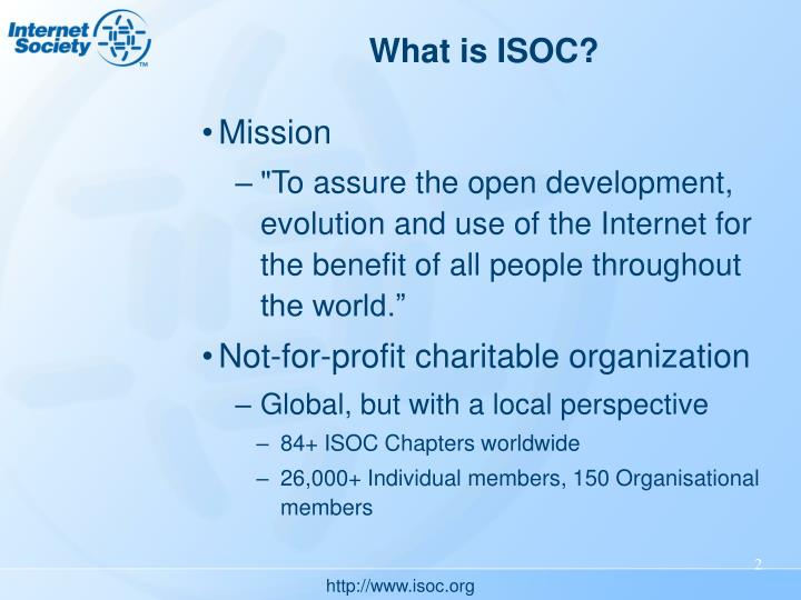 What is ISOC?