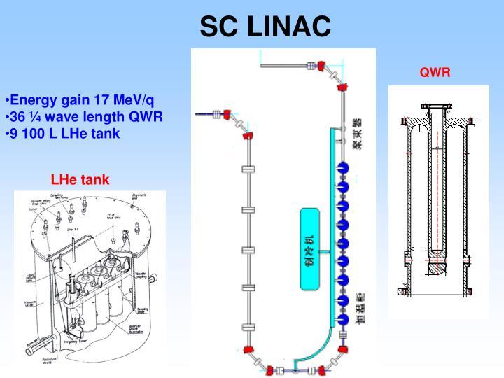 SC LINAC