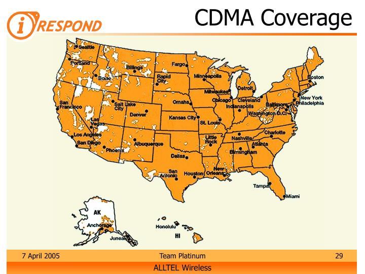 CDMA Coverage