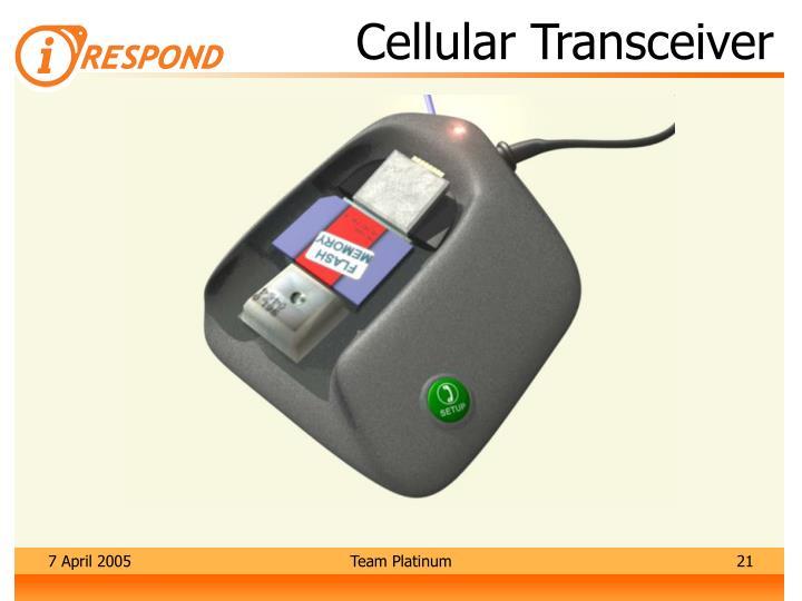Cellular Transceiver