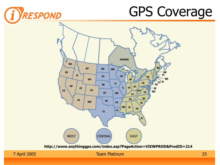 GPS Coverage