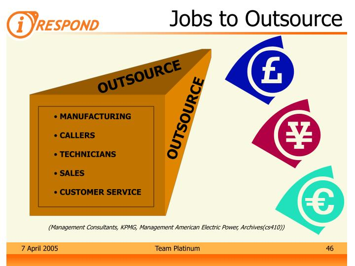 Jobs to Outsource