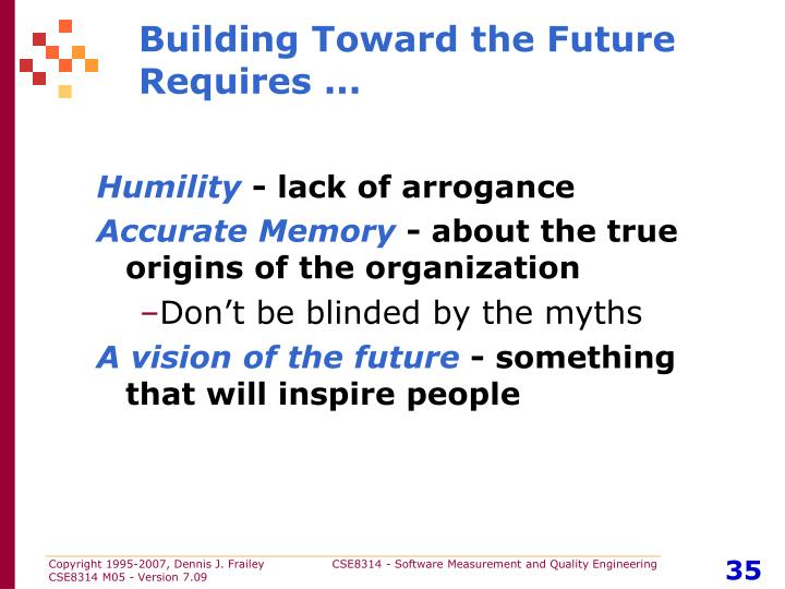 Building Toward the Future Requires ...