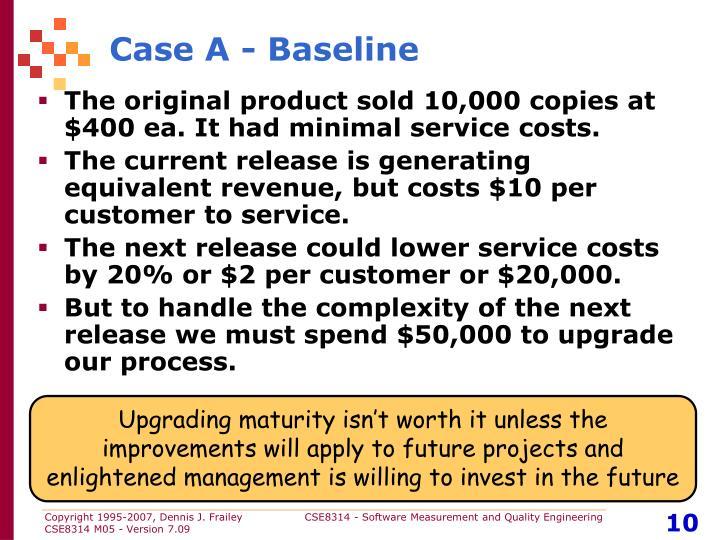 Case A - Baseline
