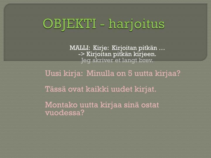 OBJEKTI -