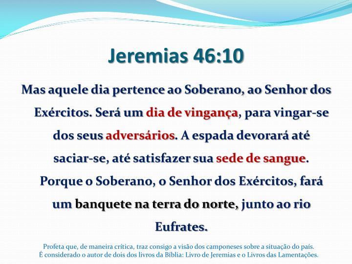 Jeremias 46:10