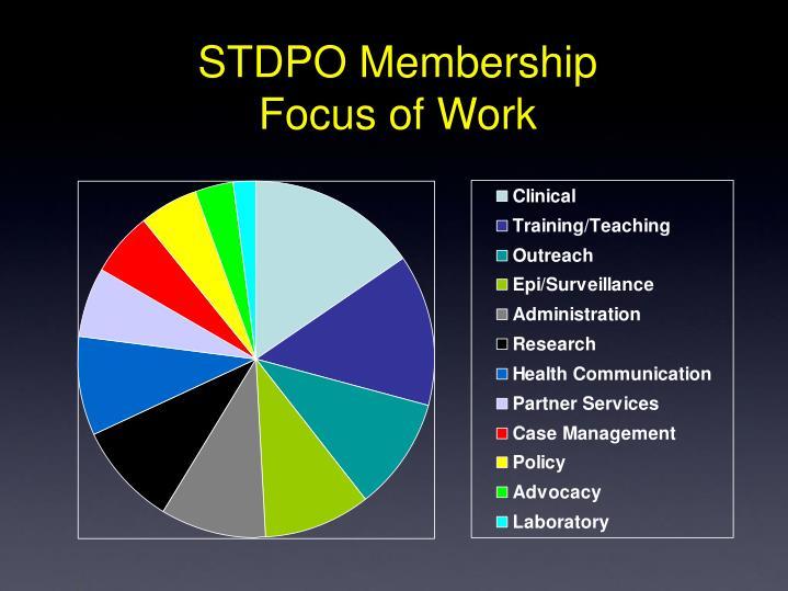 STDPO Membership