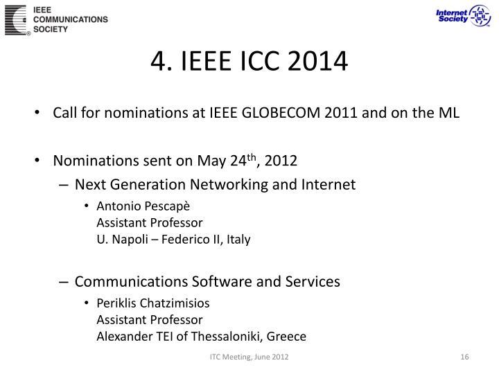 4. IEEE ICC 2014