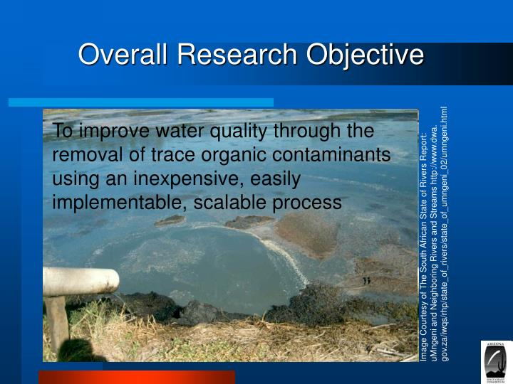 Overall Research Objective