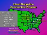 inland navigation construction program