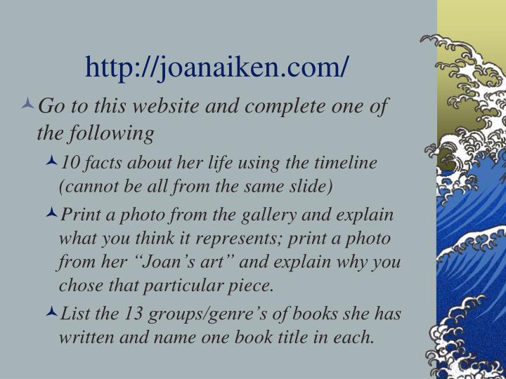 http://joanaiken.com/