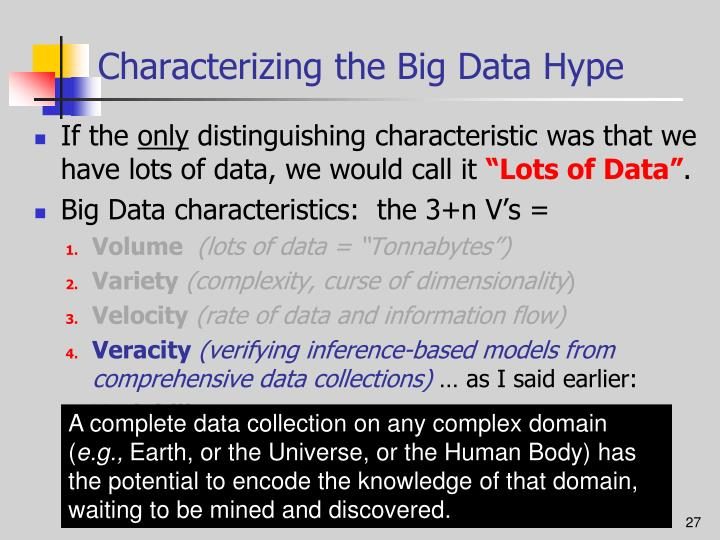 Characterizing the Big Data Hype