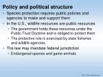policy and political structure