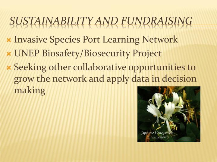 Invasive Species Port Learning Network
