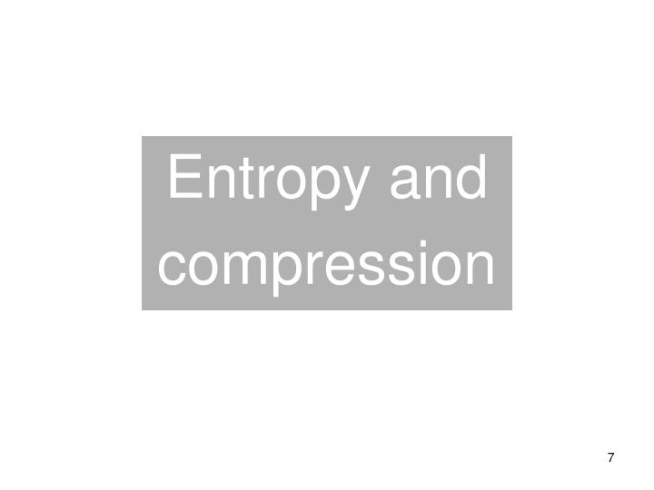 Entropy and