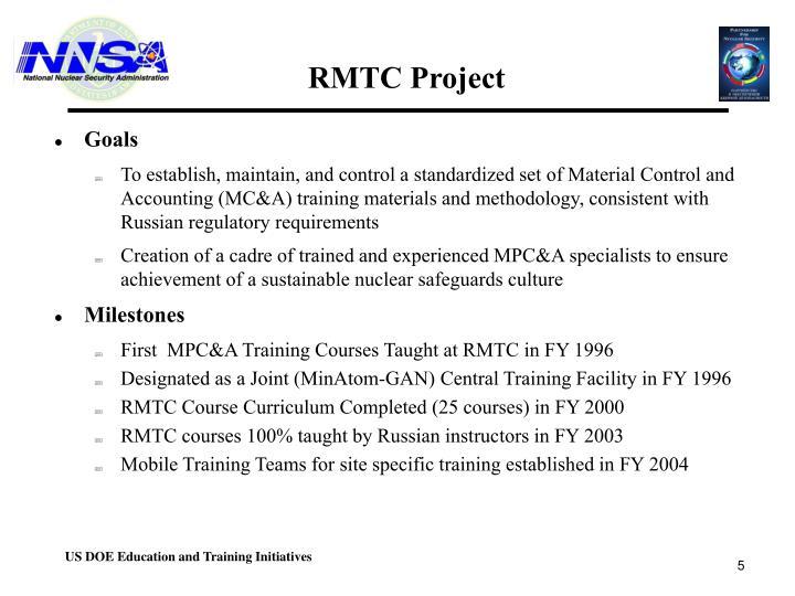 RMTC Project